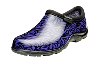 Sloggers Women's Rain & Garden Shoe in Casual Floral Purple