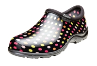 Sloggers Women's Rain & Garden Shoe in Multi Color Pin Dot