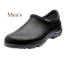 Sloggers Made in the USA Men's Rain & Garden Shoe - Black Leather Print