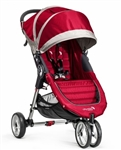 The City Mini Single Stroller in Crimson/Grey for 2014 - Model BJ11436