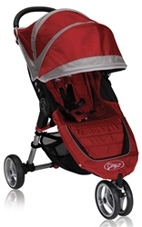The City Mini Single Stroller in Crimson Red for 2012 - Model BJ11236