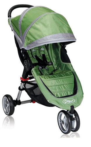 City Mini Single Stroller By Baby Jogger 2012 In Green Grey