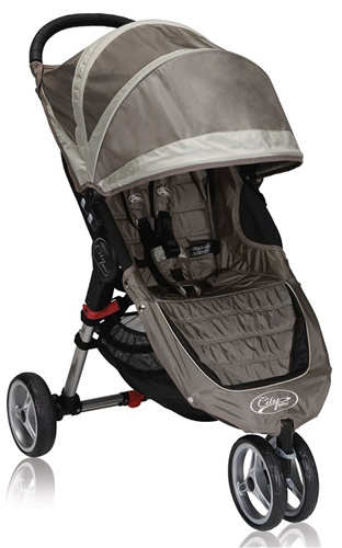 Baby Jogger City Mini Single Stroller In Sand Stone For