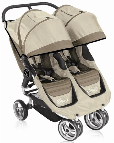 2011 baby jogger city mini double stroller by baby jogger in stone black model 81175. Black Bedroom Furniture Sets. Home Design Ideas
