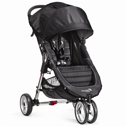The City Mini Single Stroller in Black/Gray