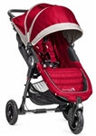 Baby Jogger City Mini GT Single Stroller 2014 in Crimson/Grey Model BJ15436
