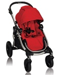 Baby Jogger City Select Stroller Ruby Red