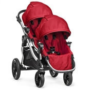 Baby Jogger City Select Double Stroller Ruby 2014 BJ20430, BJ01430