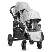Baby Jogger City Select Double Stroller Silver/Black Frame 2014 BJ23412, BJ03412