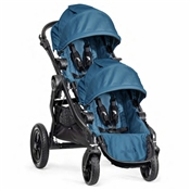 Baby Jogger City Select Double Stroller Teal/Black Frame 2014 BJ23429, BJ03429