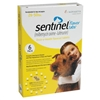 Sentinel Flavor Tabs For Dogs 26-50 lbs, Yellow 6 Pack