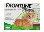 Frontline Plus for Cats, Green 3 Tubes