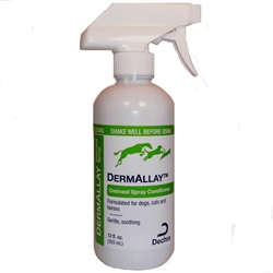 DermAllay Oatmeal Spray Conditioner, 12 oz