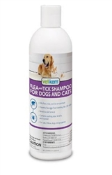 Flea & Tick Shampoo, Triple Action, 12 oz.