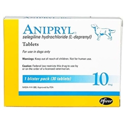 Anipryl 10mg, 30 Tablets