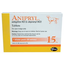 Anipryl 15mg, 30 Tablets