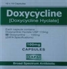 Doxycycline 100mg, 100 Tablets
