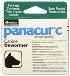 Panacur C (Fenbendazole) Granules 2 Grams, 3 Packets