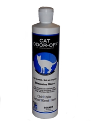 Cat Odor-Off Carpet Deodorizer, 16 oz. Concentrate