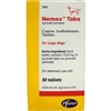 Nemex Tabs (pyrantel pamoate) For Large Dogs, 50 Tablets