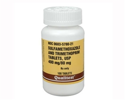 Sulfamethoxazole and Trimethoprim (SMZ-TMP) 480mg, 100 Tablets