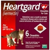 Heartgard Chewables For Cats 1-5 lbs, 6 Pack