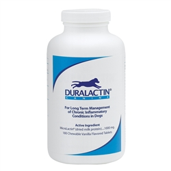 Duralactin Canine, 180 Chewable Tablets