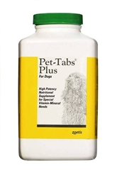 Pet-Tabs Plus Supplement, 60 Tablets