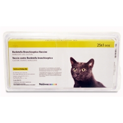 Nobivac Feline-BB [Bordetella bronchiseptica], 25 Single Dose Vials