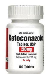 Ketoconazole 200mg, 100 Tablets