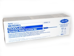 Monoject Needles 19 gauge x 1 in. 100/box