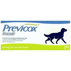Previcox (firocoxib) 227mg, 30 Tablets