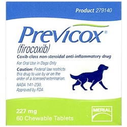 Previcox (firocoxib) 227mg, 60 Tablets