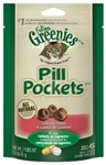 Feline Greenies Pill Pockets,  Salmon Flavor, 1.6 oz.