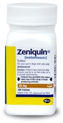 Zeniquin 25mg, 100 Tablets