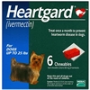 Heartgard Chewables For Dogs Up To 25 lbs, 6 Pack
