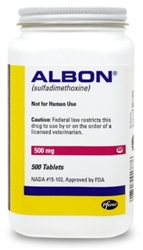Albon 500mg, 100 Tablets