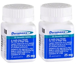 Deramaxx 25mg, 60 Tablets