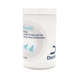Dechra MalAcetic Wet Wipes/Dry Bath, 100 Count