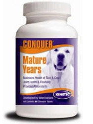 Conquer K9 Mature Years, 60 Chewable Tabletsbles