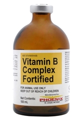 Fortified Vitamin B Complex Injection, 100 ml