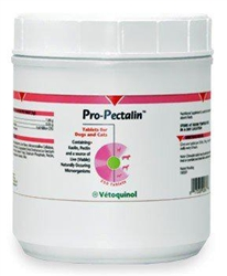Vetoquinol Pro-Pectalin Tablets For Dogs & Cats, 250 Chewable Tablets