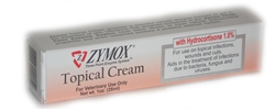 Zymox Topical Cream with Hydrocortisone 1.0%, 1 oz.