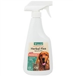 NaturVet Herbal Flea Spray, 16 oz.
