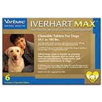 Iverhart Max for Dogs 51-100 lbs, 6 Pack