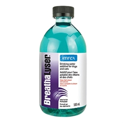 BreathaLyser Drinking Water Additive for Dogs and Cats, 500 ml