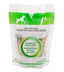Vet Solutions Enzadent Oral Care Chews, Petite 30 Count
