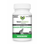 Nu-Cat Senior Multi Vitamin/Mineral Supplement, 100 Tablets