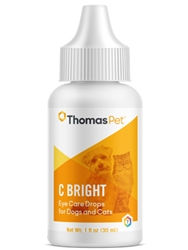 C-Bright Lubricating Ophthalmic Drops, 1 oz.