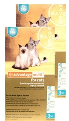 Advantage Multi For Cats 2-5 lbs, 6 Pack
